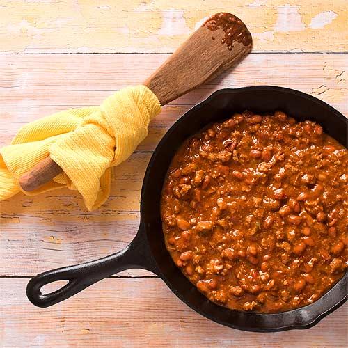 fast chilli con carne