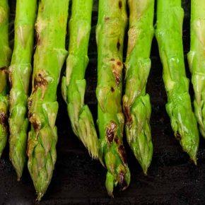 Asparagus With Chilli Jam